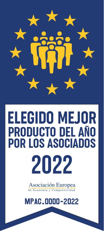 CErtificaciones Elegido mejor producto del año por los Asociados AEDEEC
